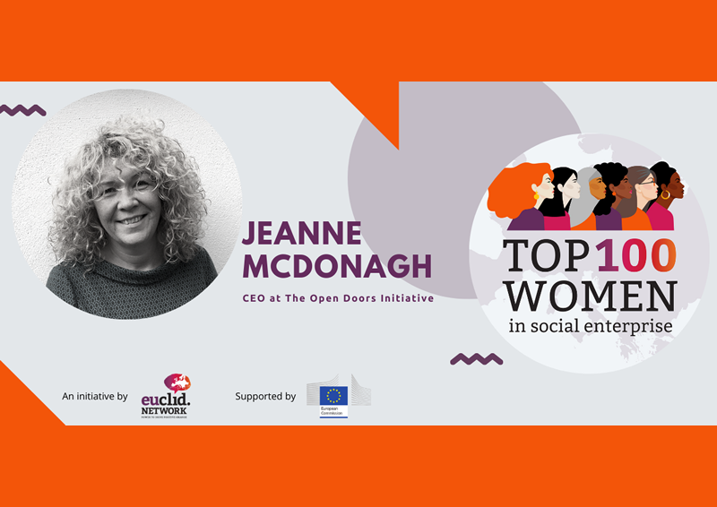 Top 100 Women in Social Enterprise Jeanne McDonagh CEO at the Open Doors Initiative